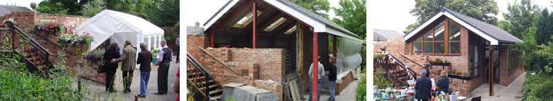 whickham garden cafe construction